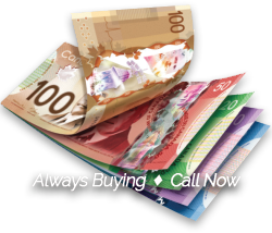 Always Buying, Call Now - Old Dominion Coin & Currency